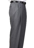Cambridge Somerset Double-Pleated Slaks / Dress Pants Trouser Harwick Made In USA America $110