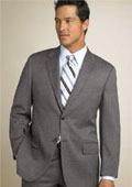 Classic Two Button Mid Gray~Grey(Not Very light & Not Dark Gray) Business Suit $139