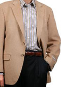 SKU#YP9064 Fall/Winter Men's Sport Coat Camel ~ Khaki $185