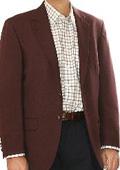 SKU#GR0115 Men's Two Button Blazer Grape/Purple/Plum (Men + Women) $175