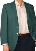 SKU#IV2970 Two Button Blazer Wool Blend Ivy (Men + Women) $175