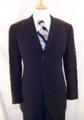 SKU MLD245 3 Button Dark Navy Blue Mens Suit HIGH GRADE Super 150s Wool Made In Spain