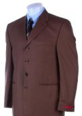 SKU 442 Super 120s Wool Modern Brown 119