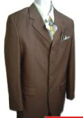 SKU 4 Button Super 150s Wool CoCo Brown Wool 199