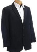 SKU#CN2832 Mens Designer Black Velour Sports Jacket $149