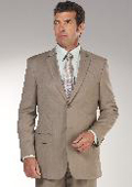 Tan Stripe Suit $139