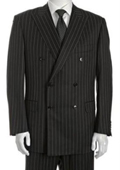 Breasted Suit Jacket+Pleated Pants