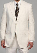 SKU#XX9921 Two Button Vented Seersucker Suit (Jacket + Pants) Available in Mens and Boys Sizes