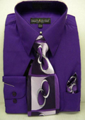 Purple Dress Shirt Tie