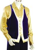 Mens Fashion 2pc Blue Denim Vest Sets $125