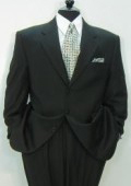 High Quality Construction TESSO~ premier quality italian fabric DESIGNER LIQUID BLACK $199