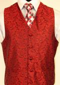 RED VEST $75