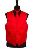 Vest Tie Set Red $39