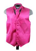 Vest Tie Set Red Violet $49