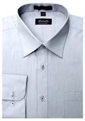 Men's silver dress shirts