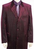 Mens Long Zoot Suit Burgundy ~ Wine ~ Maroon ~ Raisin $199