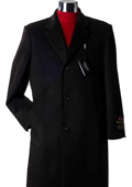 Cashmere Wool Topcoat Charcoal