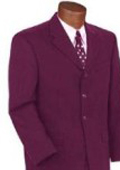SKU# TBU792 Sale Discounted Latest Style Brand New Burgundy ~ Maroon ~ Wine Color Color Suit