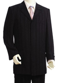 Fashionable Black Zoot Suit