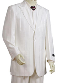 SKU#BH6782 Men's 3 Piece Offwhite Zoot Suit $250