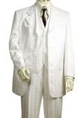Fashionable 3 Piece White