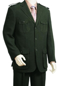 3 Button Olive High