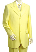 3 Piece Vested Yellow