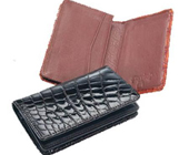 Crocodile Card Holder $250