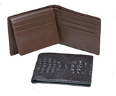 Hornback Crocodile Billfold $142