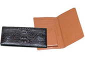 Hornback Crocodile Checkbook $180