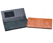 Hornback Crocodile Checkbook $190