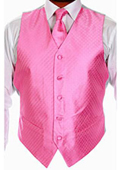 Four-piece Pink Vest Set