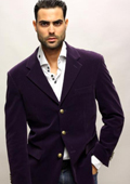 Color Purple Sport Coat