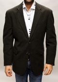 SKU#BH6622 Brown Sport Coat It's One of a Kind Super 150's For All Occasion $89