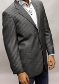 SKU#DK7840 Black Sport Coat This Jacket Is A Winner 2 Button $89