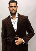 SKU#MQ8113 Mirage Color Black Sport Coat It's One Of A Kind Super 150'S For All Occasion $89