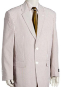 Fashion 3 Piece Seersucker Suit Available in Mens and Boys Size $150