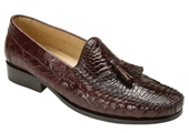 Men's Brown Genuine caiman
