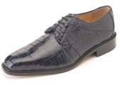 Men's Navy Nile Crocodile