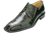 Green Genuine Ostrich/Eel $305