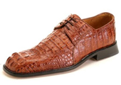 Men's Brandy Genuine caiman