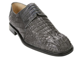 Men's Grey Genuine caiman