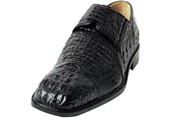 Men's Black Genuine caiman