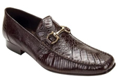 Men's Brown Genuine Crocodile