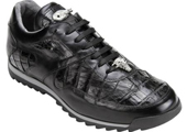 Men's Black Genuine Crocodile