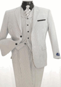 Mens 3 Piece Seersuckers Suit $139