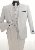 Mens 3 Piece Seersuckers Suit $139