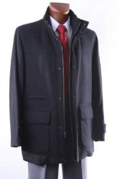 Mens Luxury Wool 3/4