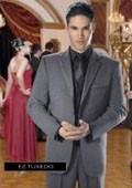 SKU#AX39478 Jean Yves Twilight Grey Tuxedo $256