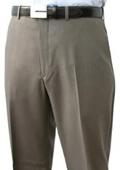 SKU#ROL932 Mantoni~Bertolini Umo Flat Front Pant 100% Superfine Wool Pre-Hemmed $85